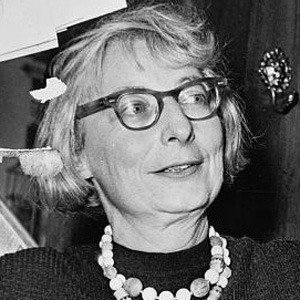 Jane Jacobs Age, Birthday, Birthplace, Bio, Zodiac &  Family